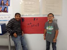 Thank you Travaille and Mykel forHelping out with the posters!